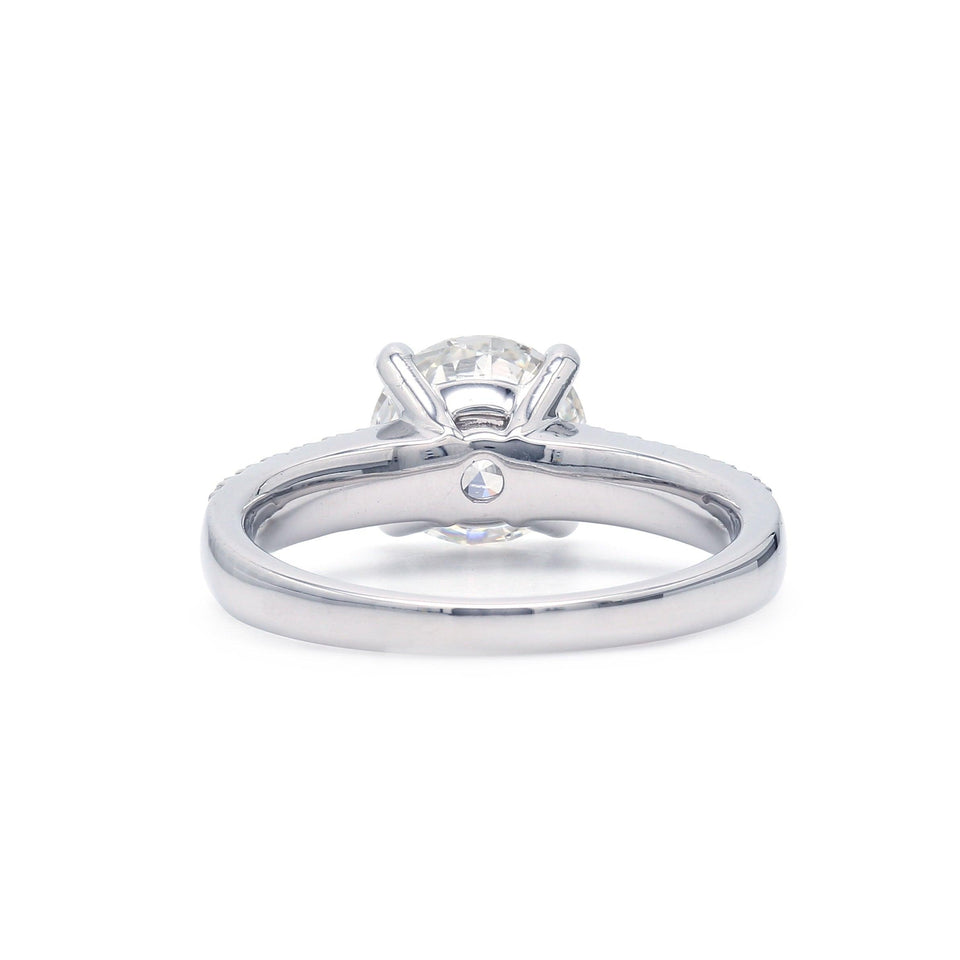 2.36 Ct. T.W. Lab-Grown IGI Certified Diamond 14K White Gold Ring