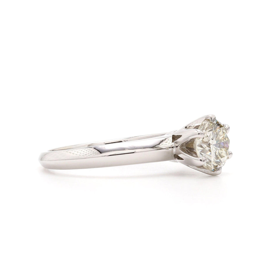 1.08 Ct. T.W. Lab Grown Diamond 14K White Gold Ring