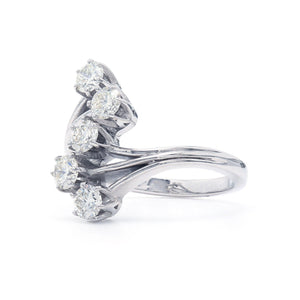 1.00 Ct. T.W. Lab-Grown Diamond Ring 14K White Gold