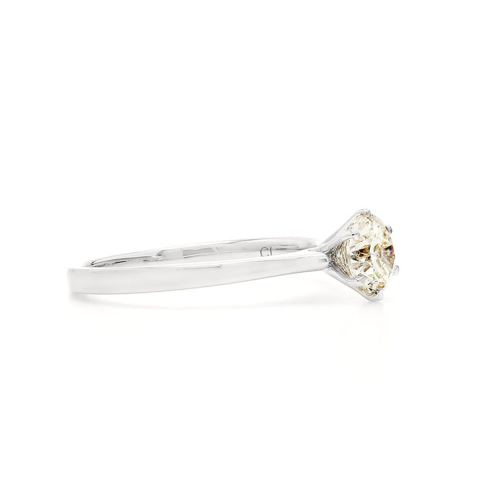 0.93 Ct. T.W. Lab Grown Diamond 14K White Gold Ring