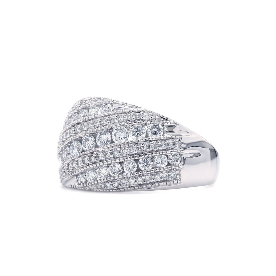 1.00 Ct. T.W. Lab Grown Diamond ring