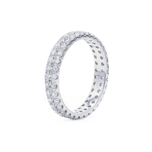 1.00 Ct. T.W. Lab-Grown Diamond Eternity Band 14K White Gold