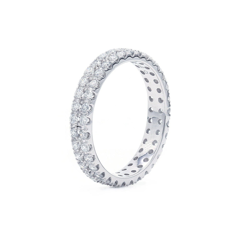 Eternity Band 14K White Gold