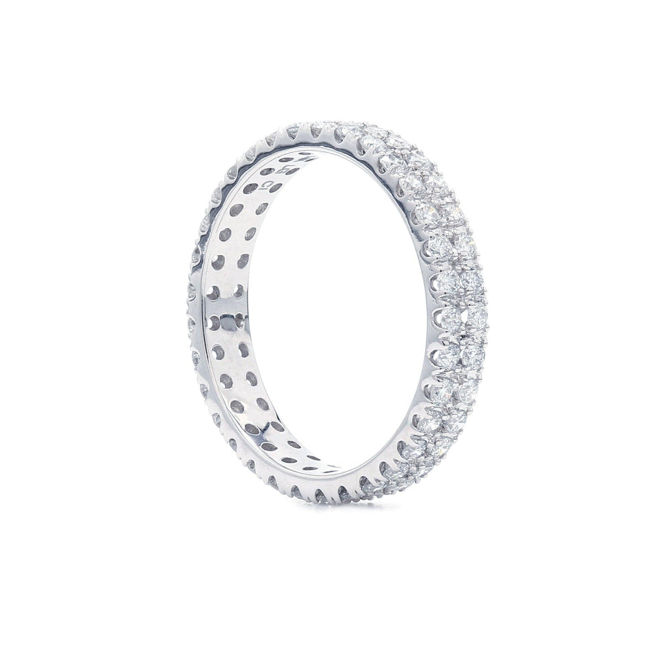 1.00 Ct. T.W. Lab Grown Diamond eternity bands