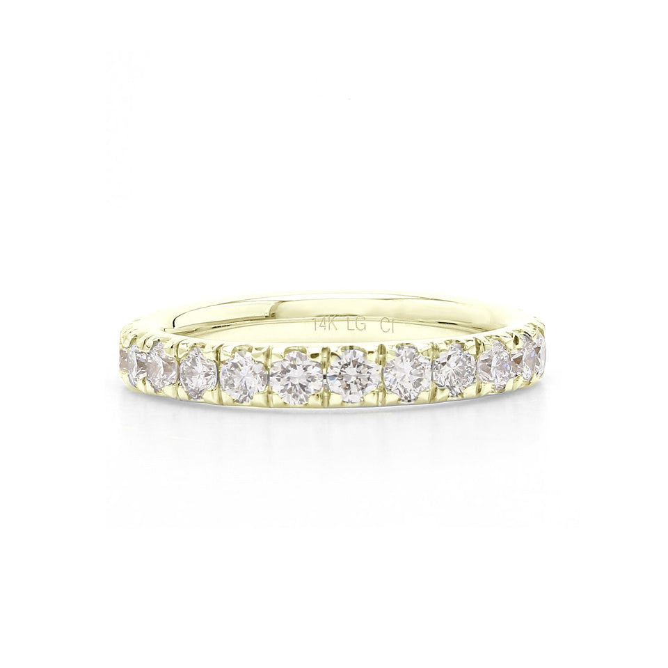2.00 Ct. T.W. Lab-Grown Diamond Eternity Band 14K Gold