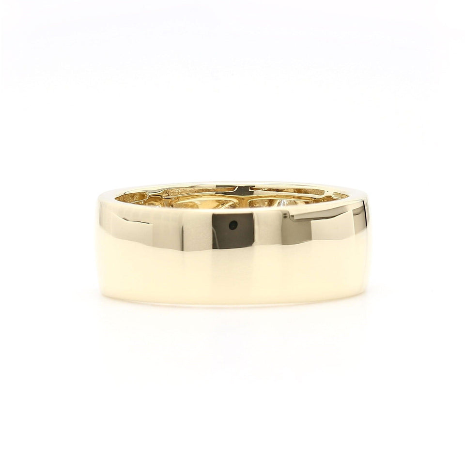 1/2 Ct. T.W. Lab-Grown Diamond 14K Yellow Gold Ring