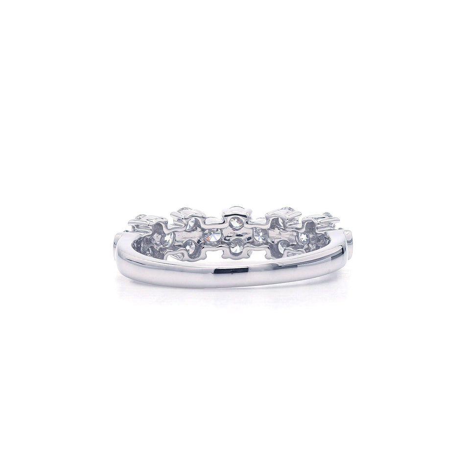 1.00 Ct. T.W. Lab Grown Diamond Ring 14K White Gold