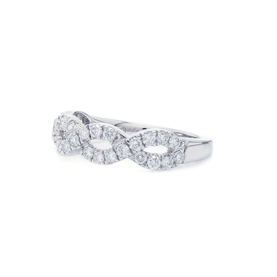 3/4 Ct. T.W. Lab Grown Diamond Ring 14K White Gold