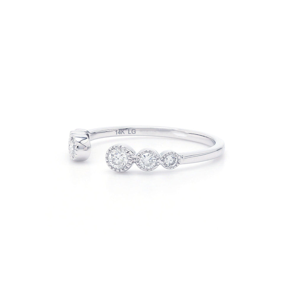 1/3 Ct. T.W. Lab-Grown Diamond Ring 14K White Gold