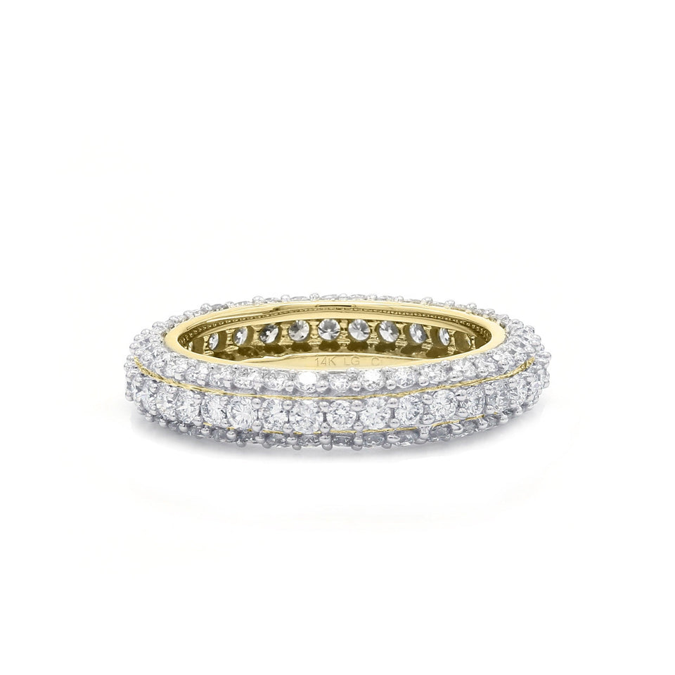 2.00 Ct. T.W. Lab Grown Diamond Eternity Band 14K Gold