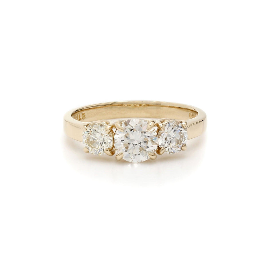 1 1/2 Ct. T.W. Lab-Grown Diamond IGL Certified Ring 14K Gold