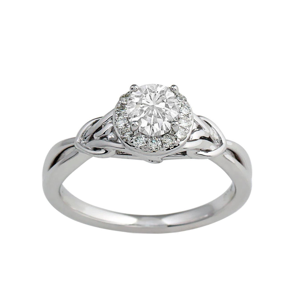 1/6 Ct. T.W. Lab-Grown Diamond 14K White Gold (Setting Only)
