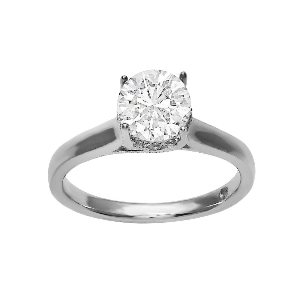 1/7 Ct. T.W. Lab-Grown Diamonds 14K White Gold (Setting Only)