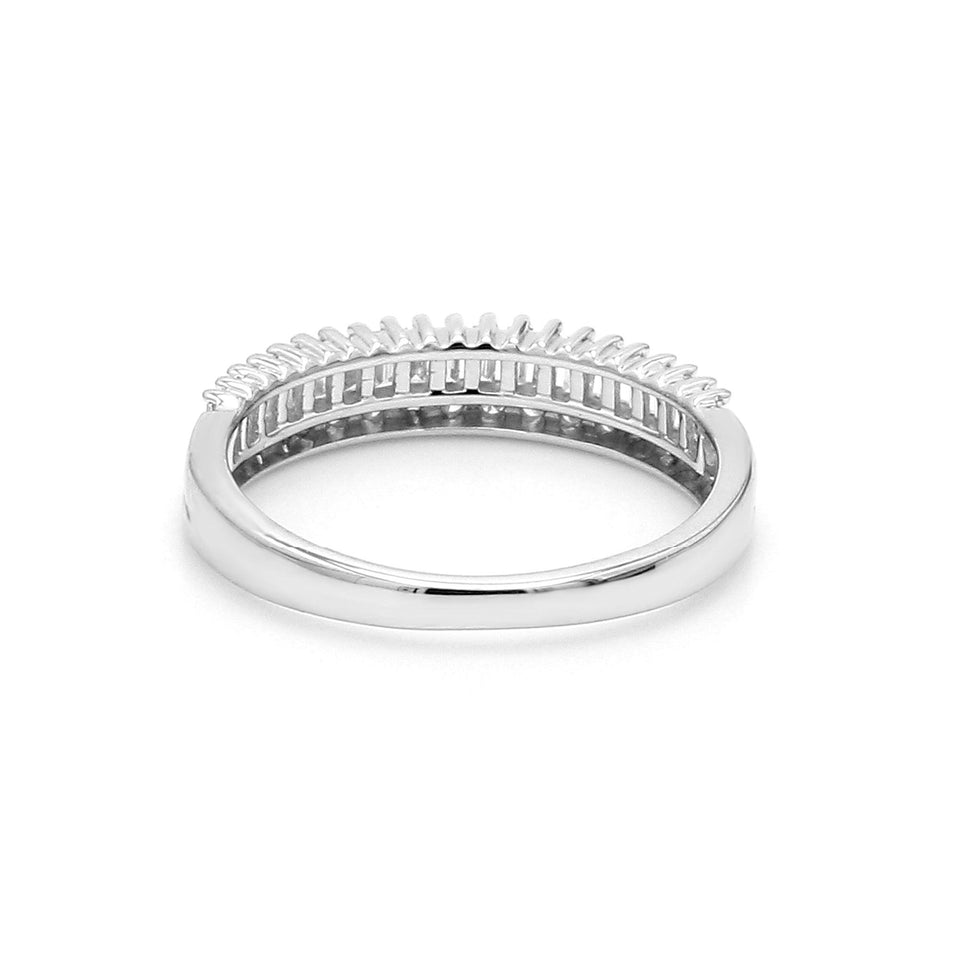 1/2 Ct. T.W. Lab Grown Diamond 14K Gold Band