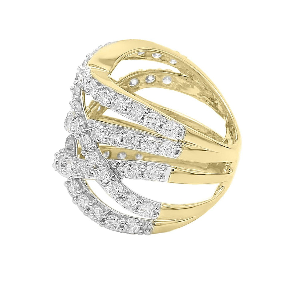3.00 Ct. T.W. Lab Grown Diamond 14K Gold Ring