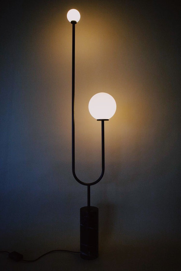 Arancini Nero Floor Lamp Lamps Moda Piera
