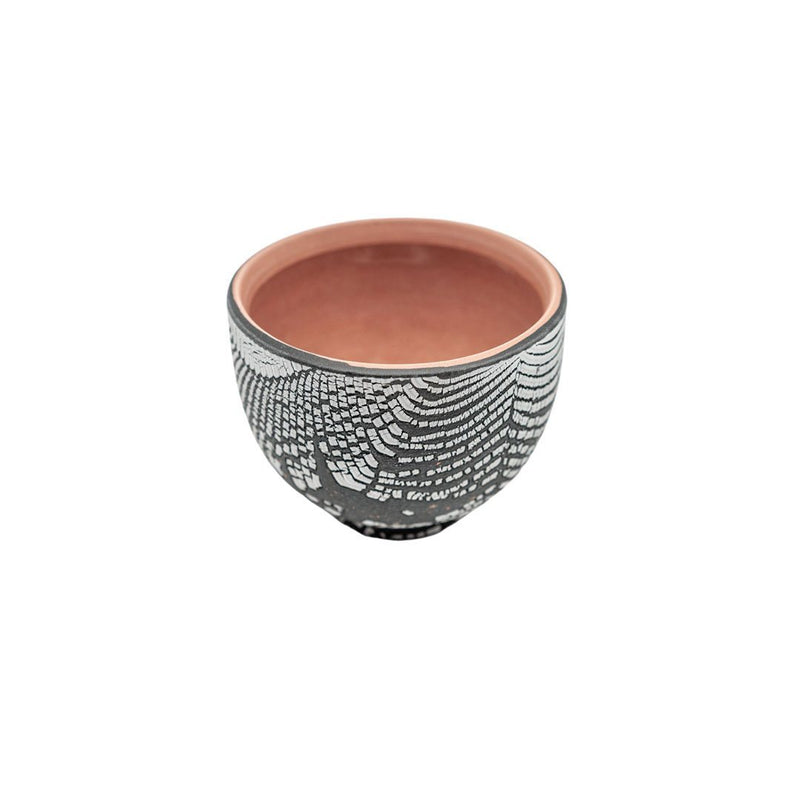 Sanghyuk Yoon Brown Striped Ceramic Bowl