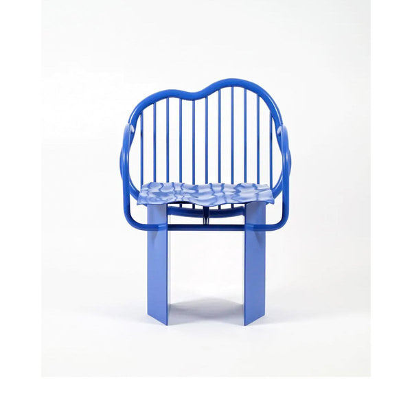 Supaform Shiny Blue Chair