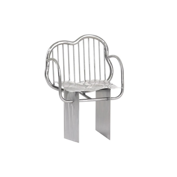 Supaform Shiny Stainless Steel Chair