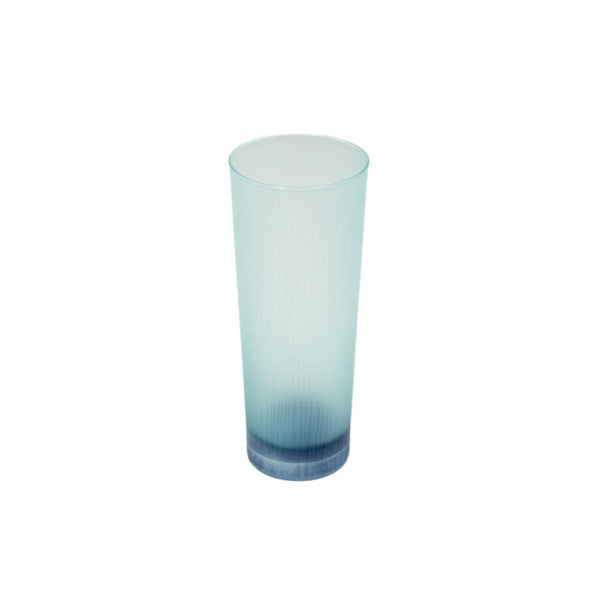 Takeyoshi Mitsui Silence Tall Emerald Green and Navy Blue Glass Tumbler