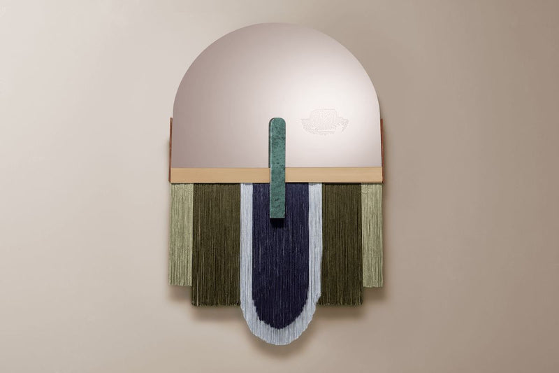 Dooq souk decorative moss wall mirror