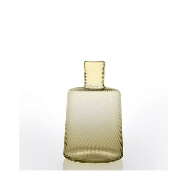 bicchiere torse low carafe angora yellow