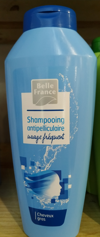 Shampooing antipelliculaire Cheveux gras 400 ml Belle France
