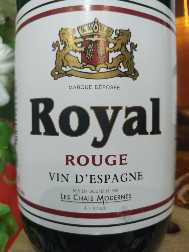 Vin Royal Rouge Covino 1L