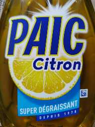 Paic Citron 750 ml