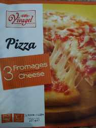 Pizza 3 Fromages 320 g Vivagel