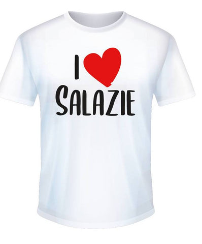 T-shirt I Love Salazie