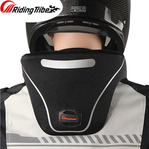 Motorcycle Neck Guard Biker Neck Brace Protector Reflective Moto Off Road Helmet Support Head Protective Gear Accessories HX-P24