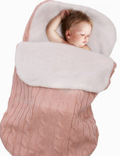Cargar imagen en el visor de la galería, Baby Winter Sleeping Bag sack stroller Swaddle Wrap Blanket Envelope cocoon for Newborn kids sleepsack cesta para bebe dormir