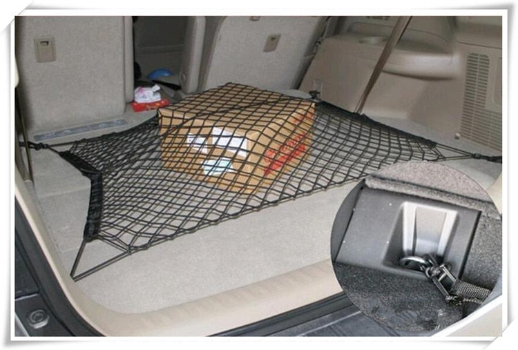 Car-styling Car Trunk Envelope Cargo Net for Audi A3 A4 A6 C4 C5 C6 B5 B6 B7 B8 S5 S6 BMW E39 E46 E90 F10 F20 F30 GT accessories