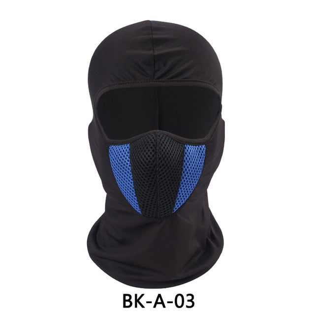 Motorcycle Balaclava Moto Face Mask Motorcycle Tactical Airsoft Paintball Cycling Bike Ski Army Helmet Protection Full Face Mask