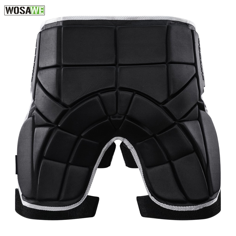 WOSAWE Motorcycle Protector Butt Hip Pad Protection Moto Sports Safety Supporter Protective Mat Adjustable Men Women Pad