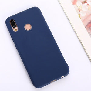 Matte Colorful cute Candy Anti-knock Soft phone case For Huawei P9 Plus P10 Lite Plus P20 Pro P20 lite P30 Pro fundas cover etui