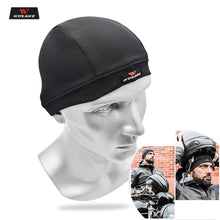 Cargar imagen en el visor de la galería, WOSAWE Motorcycle Summer Breathable Helmet Sweat Inner Cap Moto Men Women Quick Dry Moisture wicking Headwear Gorro Mechas Mujer