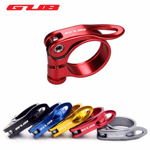 GUB Bicycle Seat Post Aluminum Ultralight Quick Release Road Bike MTB Mountain Bicycle Seat Post Seatpost Clamp 31.8mm 34.9mm