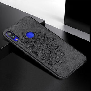 Fabric Case For Xiaomi 8 Lite 9 POCO F1 Classic Cloth Matte Skin Soft Hard Back Cover for Redmi 6 Pro 6A Note 6 7 GO Phone Cases