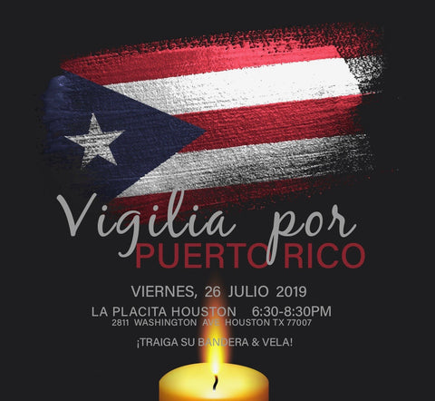 Vigil for Puerto Rico