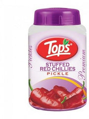 TOPS STUFFED RED CHILLI PICKLE 1KG