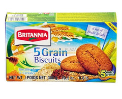 BRITANNIA 5 GRAIN BISCUITS 300G