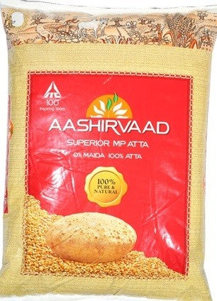 AASHIRVAAD ATTA 5KG (MADE IN INDIA)