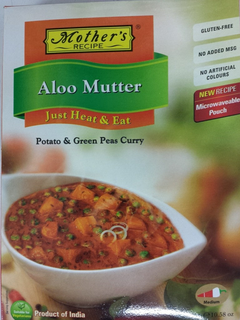 MOTHER'S RECIPE ALOO MUTTER 300G