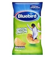 BLUEBIRD GREEN ONION ORIGINAL CUT CHIPS 150G