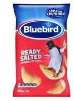 BLUEBIRD READY SALTED ORIGINAL CUT CHIPS 150G