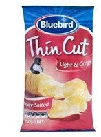 BLUEBIRD THIN CUT LIGHT & CRISPY READY SALTED 150G