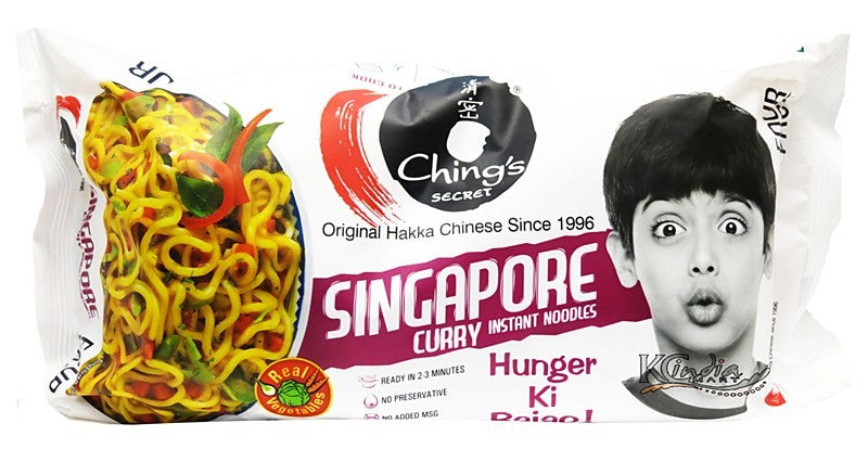 Ching's Singapore Curry Instant Noodles 300gm