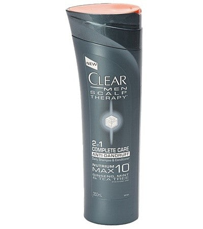 CLEAR SHAMPOO 2 IN 1 COMPLETE CARE FOR MEN 350ML